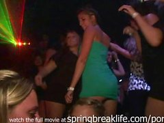 Up the Skirt in the Club