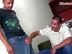 Bisexual Mexican men suck each other big uncut vergas