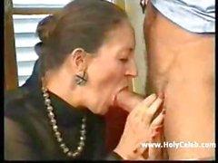 Francese-Tedesco Nonnina Anally Fisted I