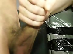 Alex sucks Dereks hard dick before anal
