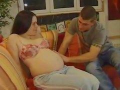 Pregnant retro f and facial