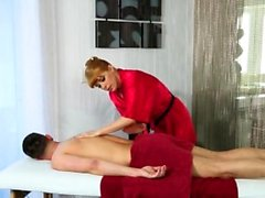 Lucky Dude Fucked Hard His Masseur in the Ass