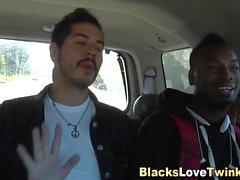 Guy takes black cocks