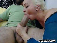 Busty blonde milf ashley downs fucks big cock