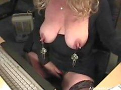 43 years Kinky Mom Silvia plays for cam