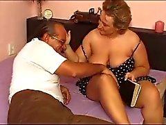 German Laura rides a cock