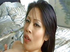 Asian shy pussy filled by dick