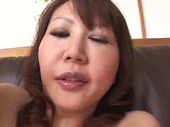 Randy MILF gets pounded and creamed in the living room