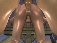 Fucking Ghost of Pirate - multiple gay intercourse