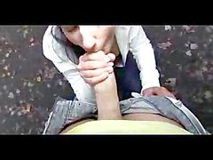 PublicAgent HD Real outdoor sex with cum over tits to finish