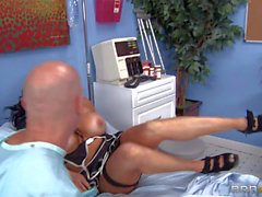 Big racked doctor Audrey Bitoni gets hardcored