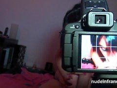 Big boobed french babe fucked hard in pov