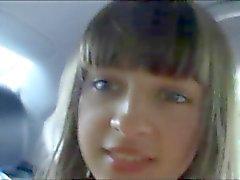 nice girl in my car