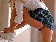ondeugende schoolmeisjes