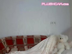 The More You Work The PLUSHCAM Pink Lush Toy Wet She Gets