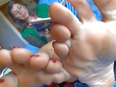 Mature bare soles... i wonder how this book ends