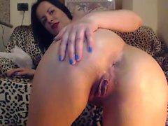 Sexy Carli Banks enjoys a wild solo masturbation
