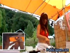 Asian babe is kinky and enjoys public part2