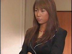 Japanilainen Kettu ole hänen kasvonsa epäselvä cum virastossa bukkake asianosainen
