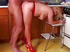 Mature pornstar Lizzy Liques gets fucked hard