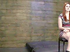 Redhead Keller für Bondage Hardcore-Sex-Szene Casting
