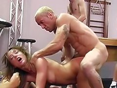 Randy young slut loves her cocks