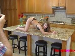 Kimmy Granger Gets Fucked In The Kitchen
