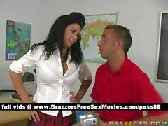 Молодые рыжий школьницей в школах