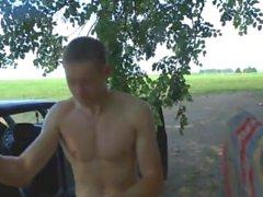 Lineal rusos del Jackass Hombres desnudo Pida el