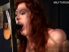 Horny girlfriend hard face fuck
