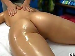 Blonde slut needs a nice massage