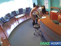 FakeHospital Businessman seduced by nurse