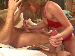 Hot MILF gets fisted from behind and very nice fuck - double penetration
