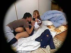 Spycam Schoolgirl seduced 2
