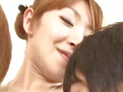 Koda Riri Asian milf enjoys young cocks in her