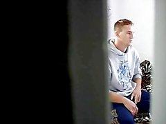 Str8 Stepson Caught Masturbating