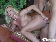 blonde with big tits loves to fuck video