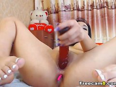 Sexy Babe Fingering Pussy on Cam