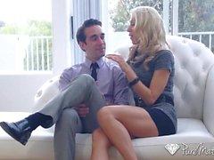 PureMature Pornstar MILF Katie Morgan fucks potential client