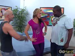 Nikki Sexx Picasso tits is cuckolding again