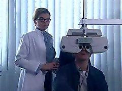Anke Engelke als geile del Augenaerztin