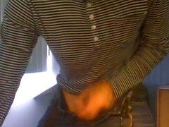 20 yo Dutch dude seduced to strip