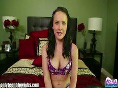 OnlyTeenBJ Katie tells us about her first BJ