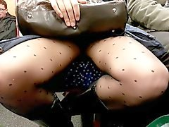 upskirt in train part 2