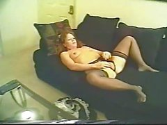 Mature maid has sex