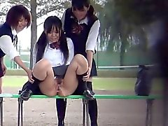 Japanese fetish teens pee
