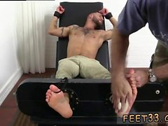 Needle bdsm male feet gay Tino Comes Back For More Tickle