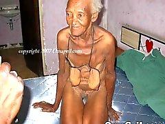 OmaGeil Velho coleção dos séniores naked