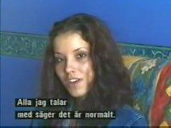 Angel Dark première fois sur la scène de sexe caméra