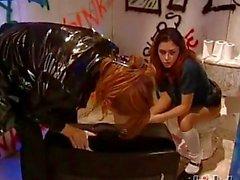 Luna ve Rhiannon Bray bu inanılmaz lezbiyen sahne zorla olsun